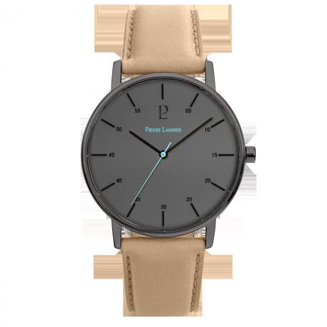 Acier noir bracelet cuir Sable 200F484 109¤ - Voir en grand