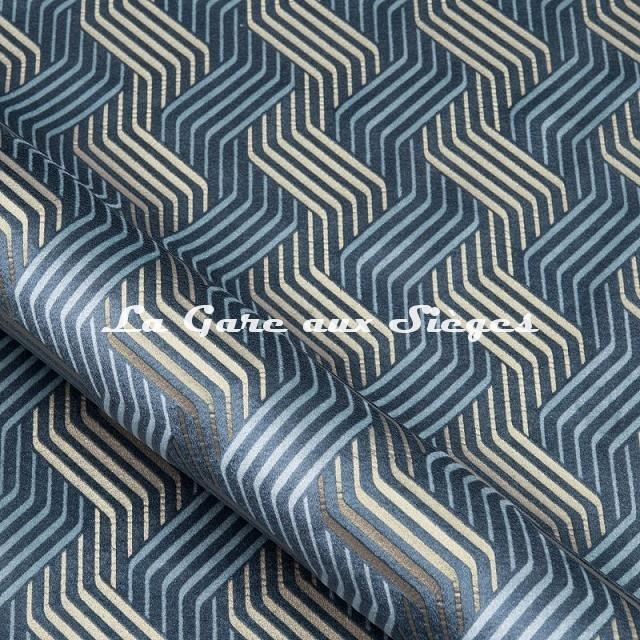 Tissu Nobilis - Velours Castiglio - réf: 10781 - Coloris 66 - Voir en grand
