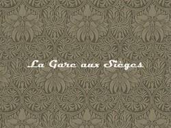 Tissu William Morris - Crown Imperial - réf: 230293 Moss/Biscuit - Voir en grand