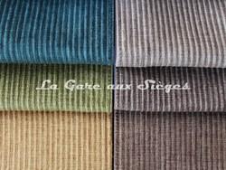Tissu Casal - Toudoux - réf: 12151 - Coloris: 12 - 33 - 40 & 77 - 78 - 52 - Voir en grand