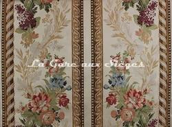 Tissu Tassinari & Châtel - Bordure Maurepas - réf: 1673.01 Ivoire - Voir en grand