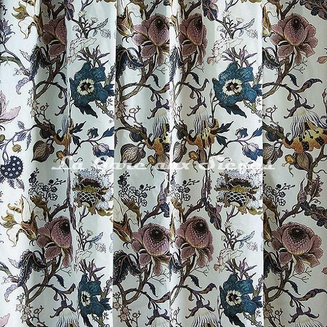 Tissu House of Hackney - Artemis coton/lin - Voir en grand