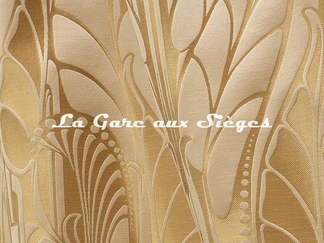 Tissu Tassinari & Châtel - Vitrail - réf: 1694.03 Doré - Voir en grand