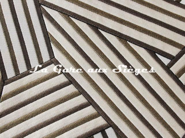 Tissu Dedar - Short Cuts - réf: T15009.001 Gold ( détail ) - Voir en grand