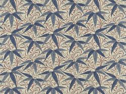 Tissu William Morris - Bamboo - réf: 222528 Indigo/Woad - Voir en grand