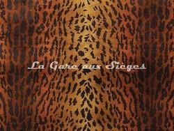 Tissu Osborne & Little - Pantanal - réf: F6714-002 Ginger/Cacao - Voir en grand
