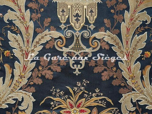 Tissu Tassinari & Châtel - Brocart Verdi - réf: 1684.04 Saphir - Voir en grand