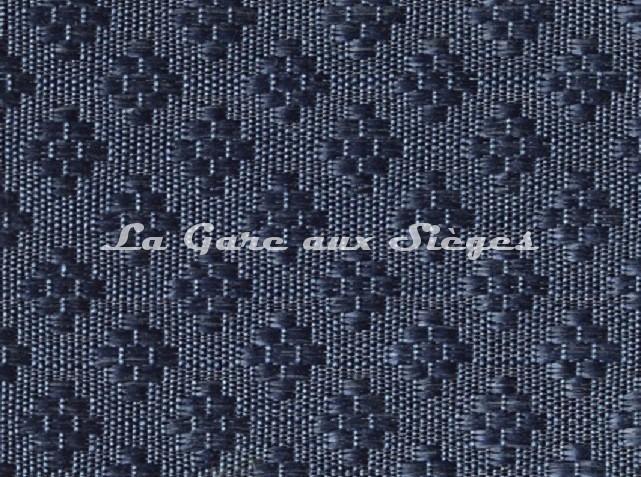 Tissu Le Crin - Nircel 229 - réf: C0229 - Coloris: 047 Bleu marine - Voir en grand