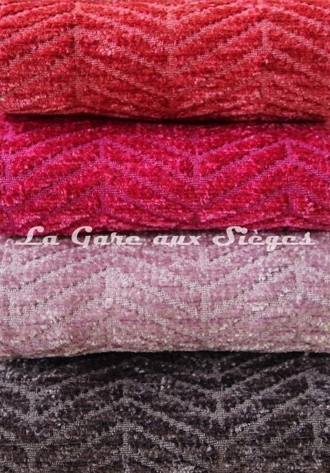 Tissu Casal - Acrobate - réf: 16184 - Coloris: 91 Blush - 92 Fuchsia - 88 Parme - 97 Chasselat - Voir en grand