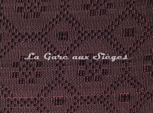 Tissu Le Crin - Gaël 30 - réf: C0030 - Coloris: 029 Rouge Noir - Voir en grand