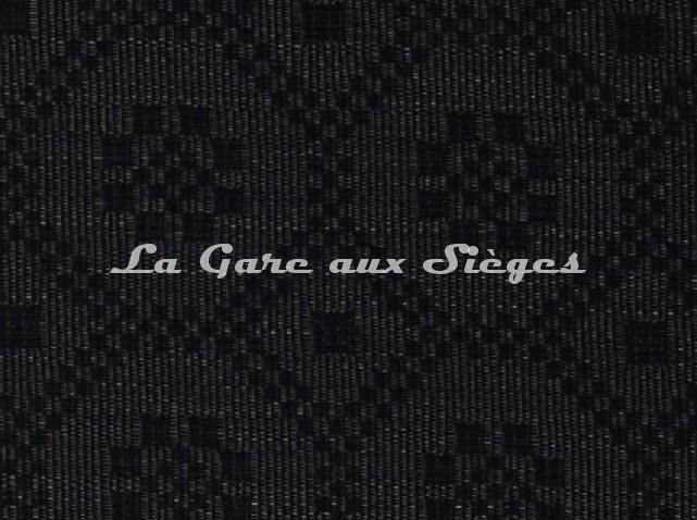 Tissu Le Crin - Gaël 30 - réf: C0030 - Coloris: 026 Noir - Voir en grand