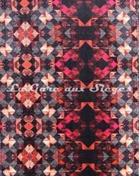 Tissu Osborne & Little - Mustique - réf: F6637-03 - Coloris: Scarlet - Voir en grand