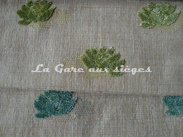 Tissu Jéro - Mascotte - réf: 9508 - Coloris: 1735 Anis & 1736 ( supprimé ) - Voir en grand