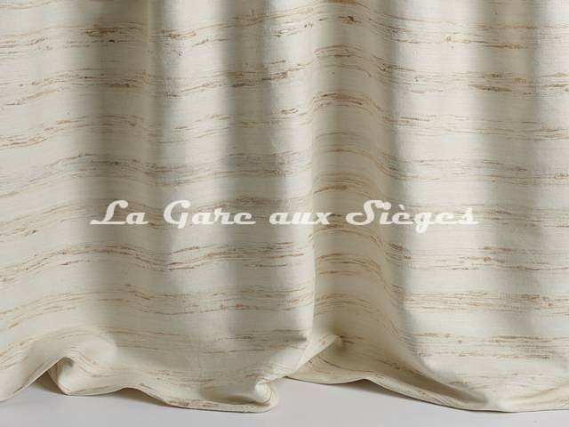 Tissu Pierre Frey - Soie Octavie - réf: F3271-001 Crème - Voir en grand