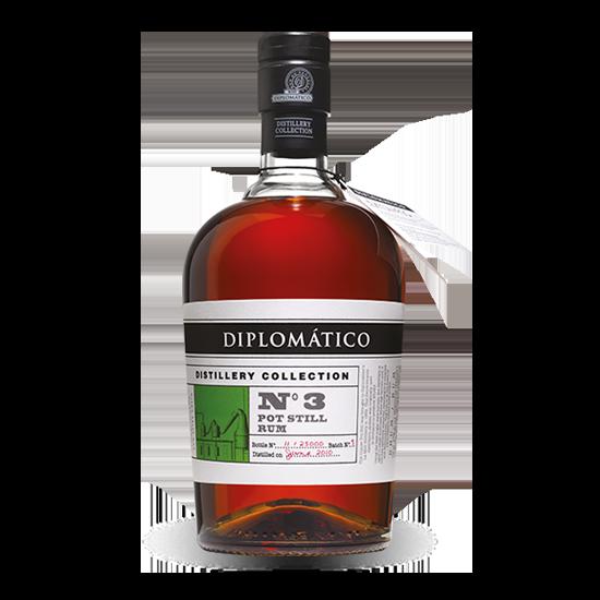 DIPLOMÁTICO - RHUM Diplomático Distillery Collection N°3 Pot - RHUM - Charpentier Vins - Voir en grand