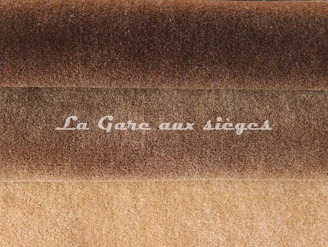 Tissu Chanée Ducrocq - Alpaga - Coloris: 2806 Grizzli - 2807 Robusta - 2812 Camel - Voir en grand