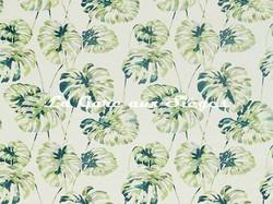 Tissu Harlequin - Kelapa - réf: 132647 Emerald/Zest