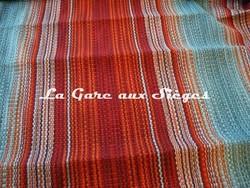 Tissu Harlequin - Blaze - réf: 130645 Flame/Tangerine/Haze - Voir en grand