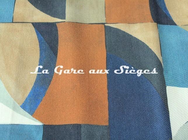 Tissu Misia - Les Ondes de Jade - réf: M164402 ( détail ) - Voir en grand