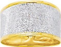 Bague grattée or jaune 18 carats 210 ¤ - Voir en grand