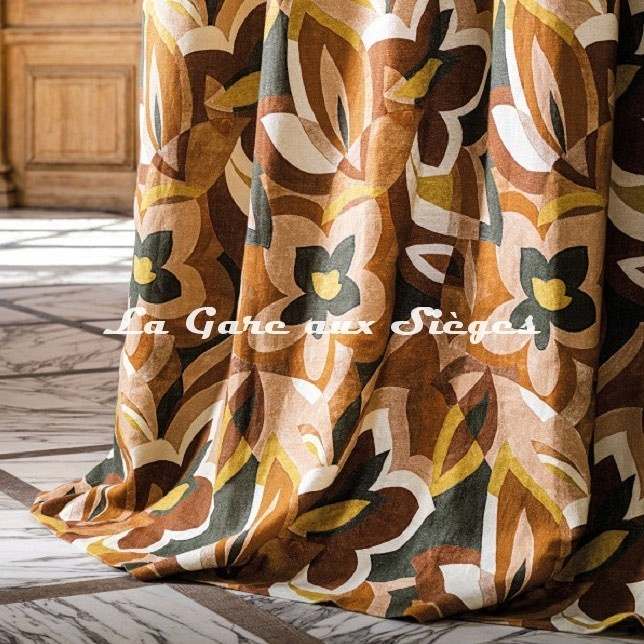 Tissu Misia - Le jardin de Cézanne - Voir en grand