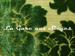 Tissu Tassinari & Châtel - Mansart Vert ( détail ) - Voir en grand