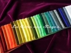 Tissu Carlucci - Velours City Velvet - réf: CA7832 - Palette de couleurs n°4 - Voir en grand