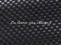 Tissu Pierre Frey - Yakara - réf: F3028-001 Noir - Voir en grand