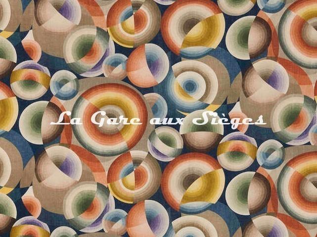 Tissu Pierre Frey - Mil neuf cent vingt ( 1920 ) - réf: 2938-001 Multicolore - Voir en grand