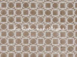 Tissu Osborne & Little - Velours Toto - réf: F7045-01 Ivory - Voir en grand