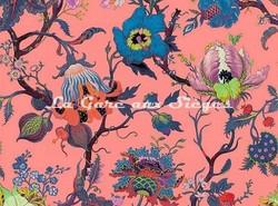 Tissu House of Hackney - Velours Artemis - Coloris: Amaranth-Pink - Voir en grand
