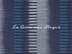 Tissu Pierre Frey - Indigo - réf: F2904-001 Minérale - Voir en grand