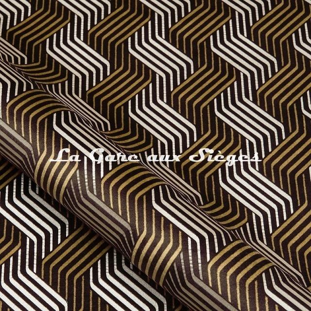 Tissu Nobilis - Velours Castiglio - réf: 10781 - Coloris 11 - Voir en grand