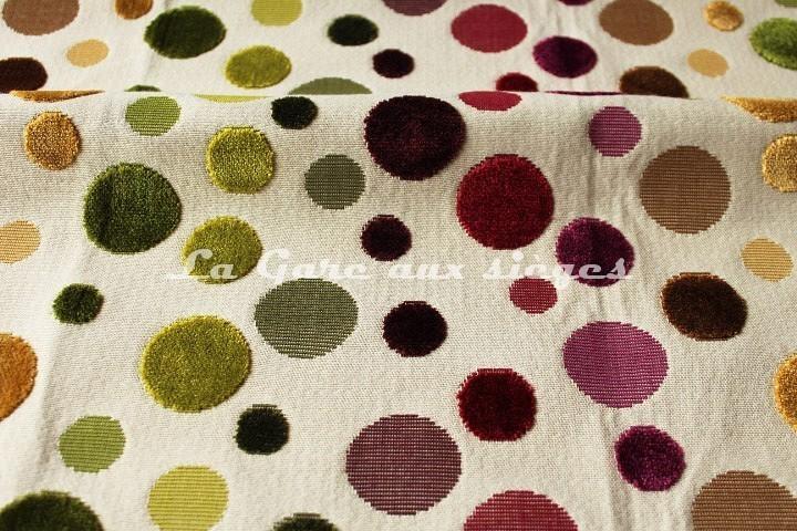 Tissu Deschemaker - Arlequin - réf: 103843 - Coloris: Burlat - Voir en grand