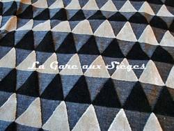 Tissu Harlequin - Tessalate - réf: 130680 Charcoal/Stone/Onyx - Voir en grand