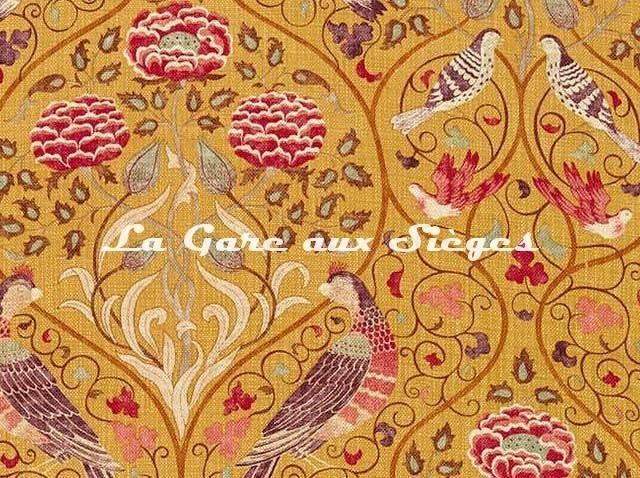 Tissu William Morris - Seasons by May - réf: 226593 Saffron ( détail ) - Voir en grand