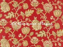 Tissu William Morris - Theodosia - réf: 226594 Red - Voir en grand