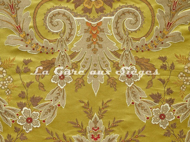 Tissu Tassinari & Châtel - Brocard Verdi - réf: 1684.02 Or - Voir en grand