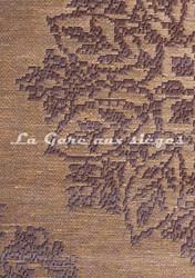 Tissu Deschemaker - Carthage - réf: 103825 Café - Voir en grand