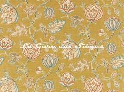 Tissu William Morris - Theodosia - réf: 226595 Saffron - Voir en grand