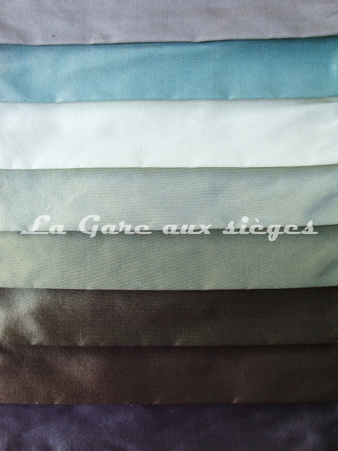 Tissu Bélinac - Taffetas de soie - réf: 1240 - Coloris: 11-07-38-06-08-26-28-27 - Voir en grand