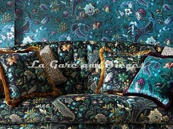 Tissu House of Hackney - Velours Florika - Voir en grand