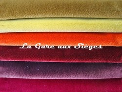 Tissu Rubelli - Velours Martora - réf: 30072 - Coloris: 16 - 17 - 18 - 19 - 20 - 21 - Voir en grand