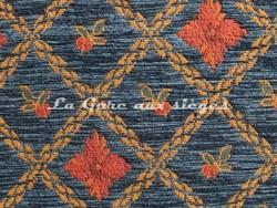 Tissu Amélie Prévot - Rohan - réf: 16076 - Coloris: 14 Bleu