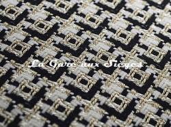 Tissu Dedar - Chérie - réf: T15028.001 Ivory ( détail )