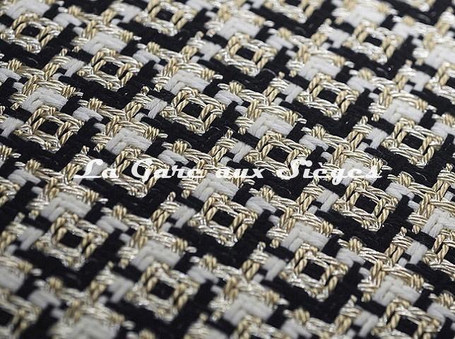 Tissu Dedar - Chérie - réf: T15028.001 Ivory ( détail ) - Voir en grand