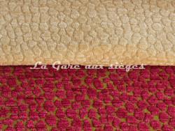 Tissu Chanée Ducrocq - Via Notte - Coloris: 1883 Orgeat - 1871 Fuchsia - Voir en grand