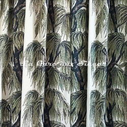 Tissu House of Hackney - Babylon - Coton/Lin - Voir en grand