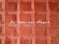 Tissu Harlequin - Ridge - réf: 130678 Tangerine - Voir en grand