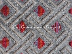 Tissu Deschemaker - Medellin - réf: 103970 Cerise - Voir en grand